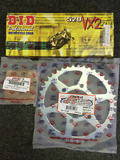 DID X ring Chain and Sprocket kit Kawasaki ZX6R 636 2005 2006 15/43 Stock size