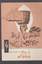 The Story of Tea 1960s Booklet Tea Council of the USA