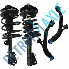 NEW 4 pc Kit - 2 Front Ready Strut Assembly + 2 Lower Control Arm and Ball Joint
