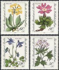 Germany (B) 1983 Relief Fund/Wild Flowers/Plants/Nature/Welfare 4v set (n28121e)