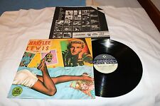 Jerry Lee Lewis Import LP with Original Record Company Sleeve-RARE JERRY LEE LEW