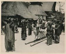 ÎLE DE SUMATRA c. 1950 - Dance Funéraire Population Batak  Indonésie - GF 140