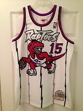 NWT Mitchell & Ness Vince Carter Rookie Jersey 44 Large Toronto Raptors