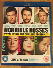 HORRIBLE BOSSES BLU-RAY Totally inappropriate edition