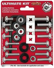 ANTI-THEFT LICENSE PLATE FASTENERS/SCREWS DOMESTIC/STANDARD IMPORT/METRIC KIT