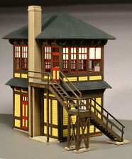 LaserKit HO Scale Pennsylvania PRR 'MO' Tower Kit #185  Nice! Bob The Train Guy