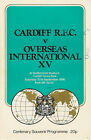 CARDIFF v OVERSEAS INTERNATIONAL XV 1976 RUGBY PROGRAMME at CARDIFF, WALES