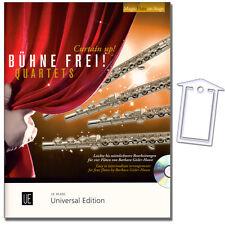 Diverse: Bühne frei - Quartets für 4 Flöten - CD, NotenKlammer - 9783795749224