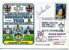 Dawn Football cover 1980 S1003A CERTIFIED SIGNED Mick Buxton, Manager