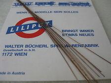 LILIPUT # 863152 Draht Griffstangen für Dampflokkessel, Dachreling Orientexpress