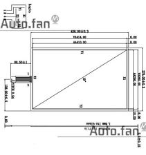 """19Inch 276x426mm 4Wire Resistive Touch Screen Panel USB kit for 19"""" monitor"""