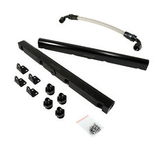 CBM-VP00105-BLK-6AN-KIT BILLET LS1 STYLE FUEL RAIL KIT BLACK ANODIZED -6AN