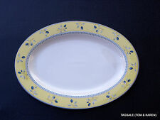 "BLUEBERRY by ROYAL DOULTON ~ 12"" X 8 3/4"" PLATTER (s)  ~ MICROWAVE"