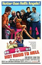 Hot Rods To Hell Movie Poster 24inx36in