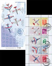 """PAF-C3 Carnet Porte-timbres """"60 ans Patrouille de France / Avion ALPHAJET"""" 2013"""