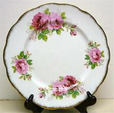 "ROYAL ALBERT-AMERICAN BEAUTY- DINNER PLATE-SZ-10""ACROSS-MADE IN ENGLAND"