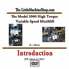 Model 3960 High Torque Mini Mill (DVD) / micro machining / milling machine