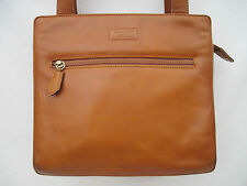 AUTHENTIQUE  sac à main  en cuir  vintage   FENDISSIME   BEG bag