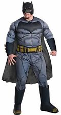 Halloween DOJ BATMAN PLUS SIZE JUMPSUIT COSTUME ADULT MEN