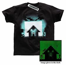 Boys Minecraft T-shirt | Mine Craft Tshirt | Official | SURVIVAL | Youth | 7-8