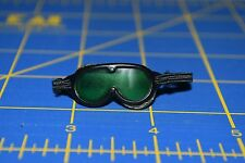 "1:6 scale Green Tinted Black Goggles Eyewear for 12"" Action Figures C-196"