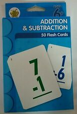 Learning Horizon   Addition & Subtraction   50 Flash Cards   805219220511