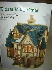 Dept 56 Dickens Village - Balmoral Lodge - NIB