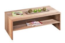 Couchtisch Wohnzimmertisch Tisch Wohnzimmer Beistelltisch Wildeiche 115x60 cm