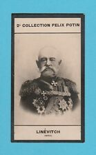 MILITARY  -  FELIX  POTIN  OF  FRANCE  -  ADMIRAL  LINEVITCH  -  1908