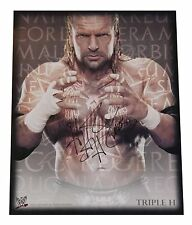"""WWE """"The Game"""" Triple H HHH 11x14 Autograph Signed Picture Auto"""