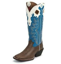 "Tony Lama Men's 11 D Walnut Elephant Grain 16"" Cowboy 3R Western Boots RR1014"