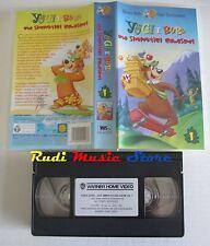 film VHS cartone  YOGI E BUBU DUE SIMPATICI GOLOSONI WB 2001  (F28) no dvd