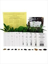 MEDICINAL HERB GARDEN SEED COLLECTION-CHAMOMILE, FEVER FEW, YARROW, VALERIAN ETC