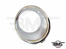 BMW MINI One / Cooper Front Bumper Chrome Foglight Surround O/S R56 R55 R57