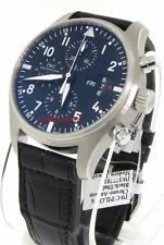 IWC Classic Pilots Chronograph Automatic Steel IW377701 - Brand New !