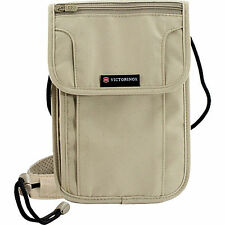 Victorinox Swiss Army Neck Stash Deluxe Concealed Security Pouch Passport Holder
