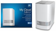 Western Digital WD My Cloud MIRROR 8 TB External Red Hard Drives WDBZVM0080JWT