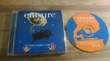 CD Pop Erasure - Other People's Songs (12 Song) MUTE Cover Songs