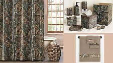 Realtree Xtra Camo 23 Piece Bathroom Accessories - Complete Decor Set MSRP $289.