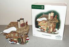 "Nice!! DEPT 56 Dickens Christmas Village ""FRASIER Frazier FAMILY FARMHOUSE"""
