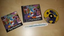 DONALD DUCK QUACK ATTACK IN ITALIANO X PS1_COMPLETO-BUONE CONDIZ.!PLAYSTATION 1!