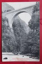 Carte postale ancienne SAINT-SAUVEUR - Le Pont de Napoléon