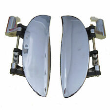 Fit 97-05 Hyundai Atos Amica Sanatro Outside Front Left Right Chrome Door Handle