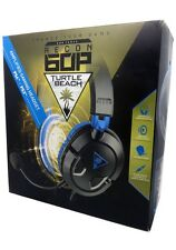 New Turtle Beach RECON 60P Black Headband Headsets for Microsoft PS4, PC Xbox On