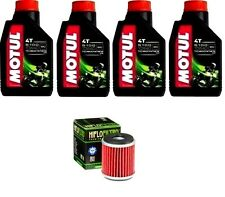 KIT OLIO MOTUL 4LT 5100 10W40 +HF141 HM MOTO 125 Urban City 4T  11-15