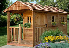 8' x 12' Santa Rosa Cedar Storage Shed  - ON SALE NOW
