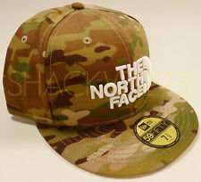 THE NORTH FACE NEW ERA CRYE PRECISION MULTICAM 59FIFTY HAT - 7 1/2