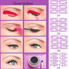 8 Sheets Womens Fashion Eyeliner Stickers Stencil Quick Eye Makeup Tools NEW CN
