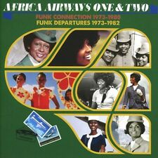 Africa Airways One & Two: Funk Connection 1973-198 (2016, CD NIEUW)2 DISC SET