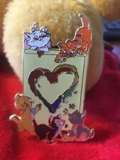 Fantasy Pin. Love Is Love Marie Toulouse Berlioz Aristocats. Oliver Figaro LE 50